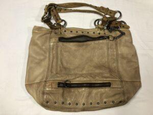 バッグの黒ずみをクリーニング&再塗装